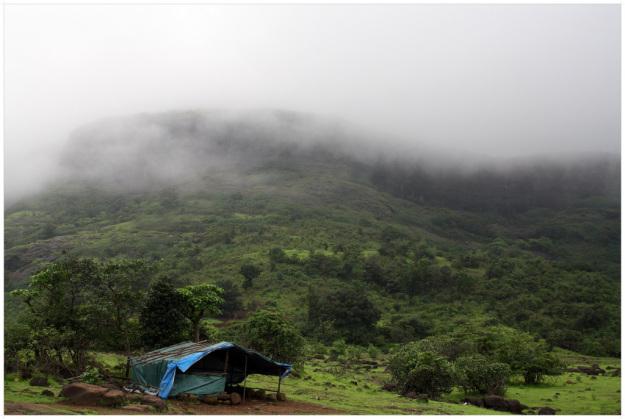 Rajmachi fort, trekking in maharashtra