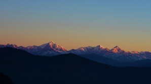 The majestic Himalayas. Photo by Koshy Koshy.