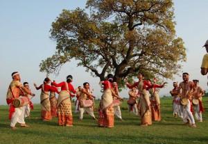 Bihu Dance, Assam