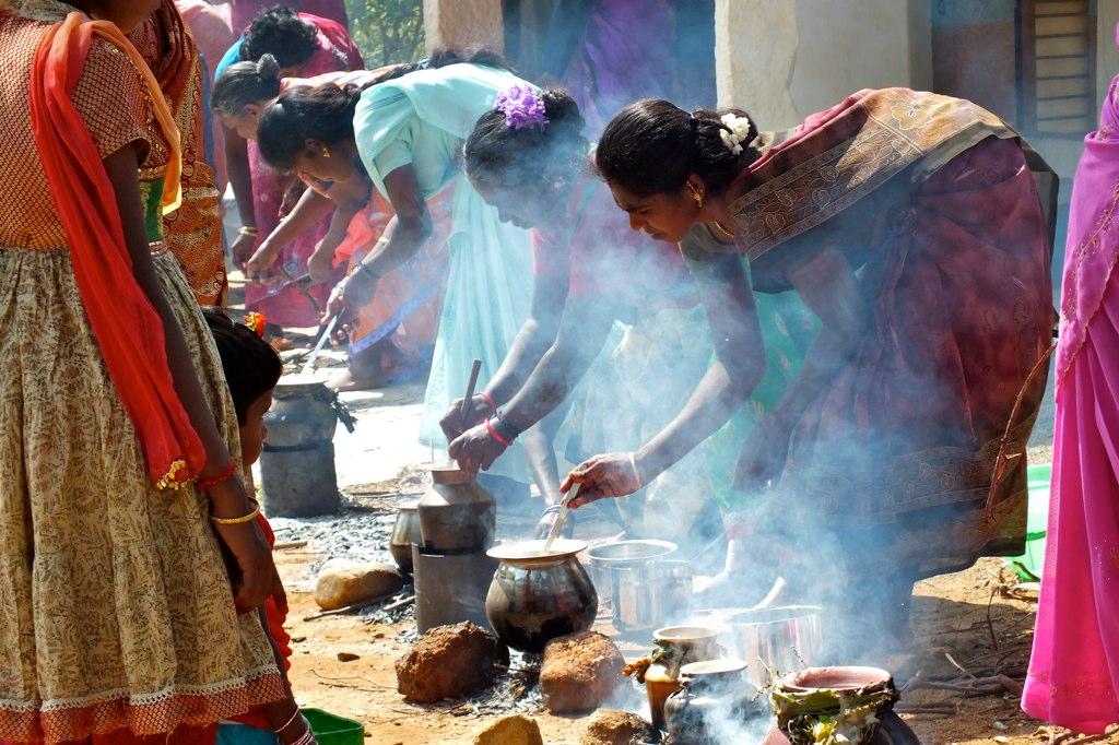 The Pongal cooks