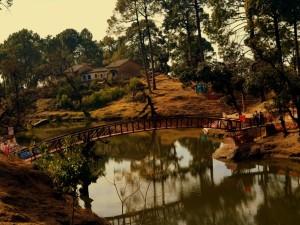 Bhulla Taal Lake Lansdowne Town
