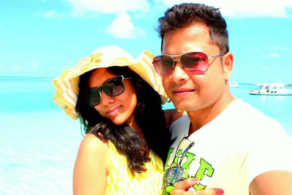 Ajitesh and Romani, the Travelling couple