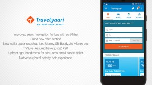 Travelyaari App Main Screen