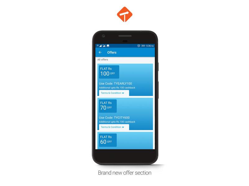 Travelyaari App Offers
