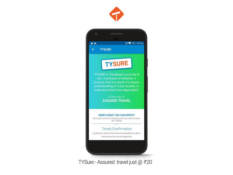 Travelyaari TYSure assurance