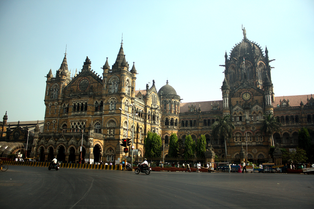 Chattrapaji Shivaji Terminus in Mumbai