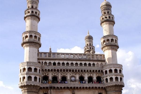 The Charminar at Hyderabad