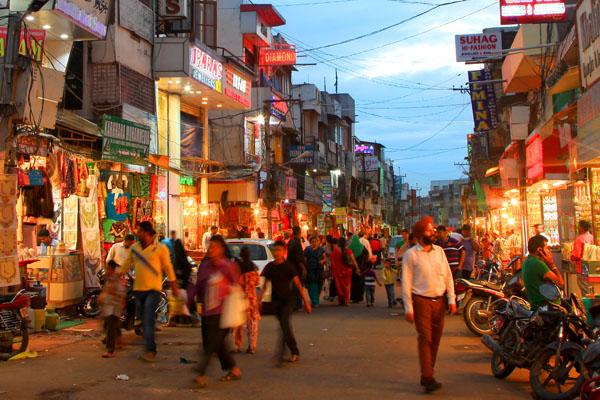 The Laad Bazaar at Hyderabad